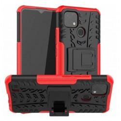 Odolný obal na Realme C21   Armor case - Červená