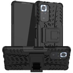 Odolný obal na Xiaomi Redmi Note 10 | Armor case - Černá