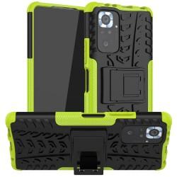 Odolný obal na Xiaomi Redmi Note 10 | Armor case - Zelená