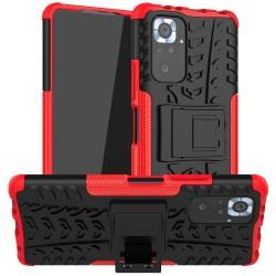 Odolný obal na Xiaomi Redmi Note 10 | Armor case - Červená