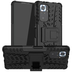 Odolný obal na Xiaomi Redmi Note 10S   Armor case - Černá