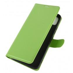 Knížkové pouzdro s poutkem pro Xiaomi Redmi Note 10 5G - Zelená
