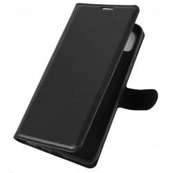 Knížkové pouzdro s poutkem pro Xiaomi Redmi Note 10 - Černá