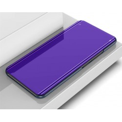 Zrcadlové pouzdro na Xiaomi POCO F3 - Modrý lesk