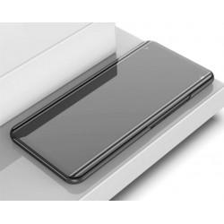 Zrcadlové pouzdro na Xiaomi POCO F3 - Černý lesk