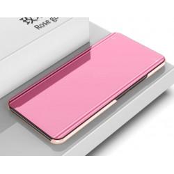 Zrcadlové pouzdro na Xiaomi POCO F3 - Růžový lesk