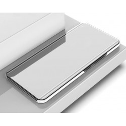 Zrcadlové pouzdro na Xiaomi POCO F3 - Stříbrný lesk