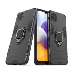 Odolný kryt na Samsung Galaxy A22 5G   Panzer case - Černá
