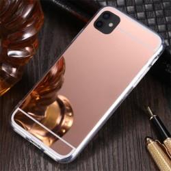 Zrcadlový TPU obal na Samsung Galaxy A22 5G - Růžová