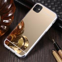 Zrcadlový TPU obal na Samsung Galaxy A22 5G - Zlatá