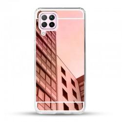 Zrcadlový TPU obal na Samsung Galaxy A22 (4G) - Růžová