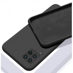 Liquid silikonový obal na Samsung Galaxy A22 (4G)   Eco-Friendly - Černá