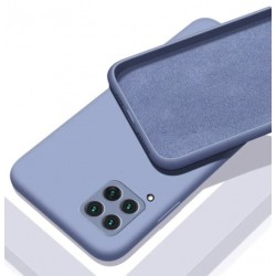 Liquid silikonový obal na Samsung Galaxy A22 (4G)   Eco-Friendly - Modrá