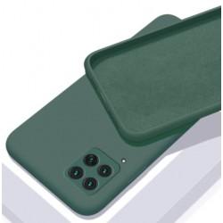 Liquid silikonový obal na Samsung Galaxy A22 (4G)   Eco-Friendly - Zelená