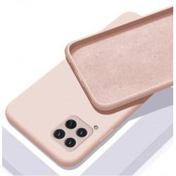 Liquid silikonový obal na Samsung Galaxy A22 (4G)   Eco-Friendly - Růžová