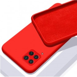 Liquid silikonový obal na Samsung Galaxy A22 (4G)   Eco-Friendly - Červená