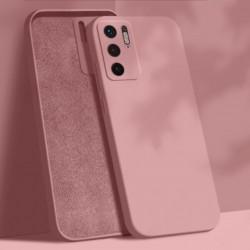Liquid silikonový obal na Xiaomi Redmi Note 10 5G   Eco-Friendly - Růžová