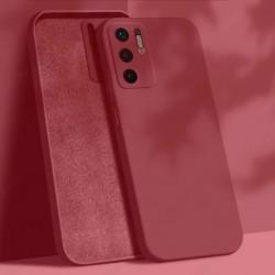 Liquid silikonový obal na Xiaomi Redmi Note 10 5G   Eco-Friendly - Červená