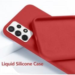 Liquid silikonový obal na Samsung Galaxy A52s 5G | Eco-Friendly - Červená