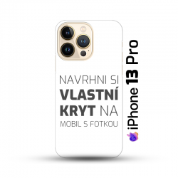 iPhone 13 Pro kryt s vlastní fotkou