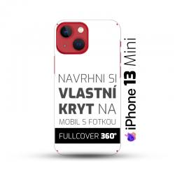 Vlastní kryt na iPhone 13 Mini   Fullcover 360°