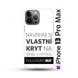 Vlastní kryt na iPhone 13 Pro Max   Fullcover 360°