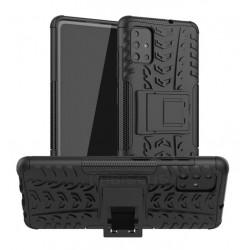 Odolný obal na Samsung Galaxy A22 5G   Armor case - Černá