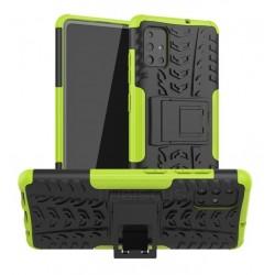 Odolný obal na Samsung Galaxy A22 5G   Armor case - Zelená