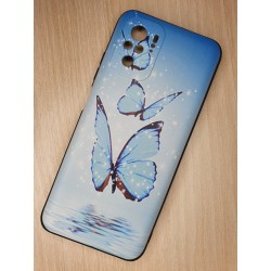 Silikonový obal na Xiaomi Redmi Note 10 s potiskem - Motýli