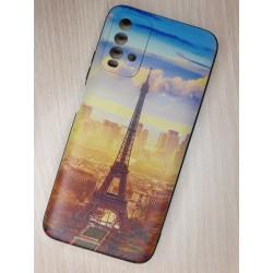 Silikonový obal na Xiaomi Redmi 9T s potiskem - Paříž