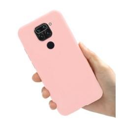 Liquid silikonový obal na Xiaomi Redmi Note 9 | Eco-Friendly - Růžová