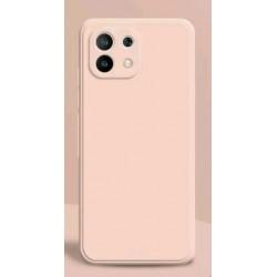 Liquid silikonový obal na Xiaomi Mi 11 Lite | Eco-Friendly - Růžová