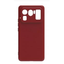 Liquid silikonový obal na Xiaomi Mi 11 Ultra | Eco-Friendly - Červená