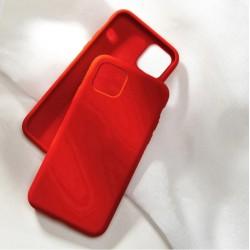 Liquid silikonový obal na iPhone 13 Pro Max   Eco-Friendly - Červená