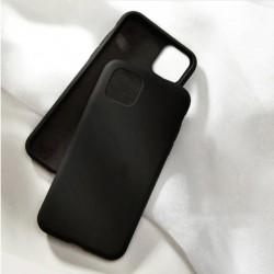 Liquid silikonový obal na iPhone 13 Pro Max   Eco-Friendly - Černá