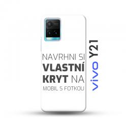 Vivo Y21 kryt s vlastní fotkou