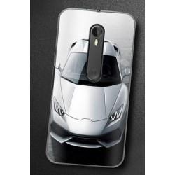 Motorola Moto G 3rd kryt s obrázkem Auto