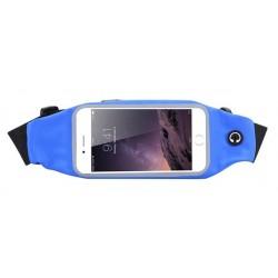 Sportovní ledvinka na mobil Tmavě modrá