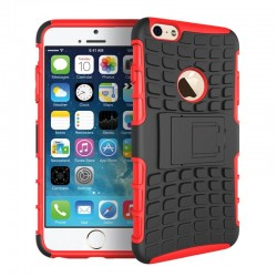 Apple iPhone 6/6S Plus Odolný kryt Červený