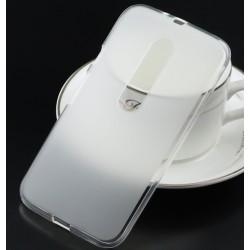 Silikonový obal pro Lenovo Moto G Bílý