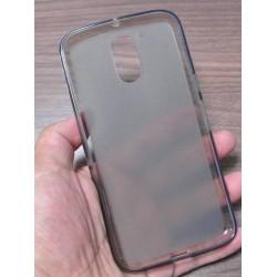 Lenovo Moto G4 G4 Plus silikonový obal Šedý