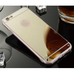 iPhone 7 zrcadlový kryt zlatý