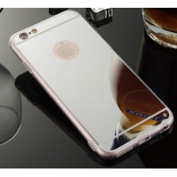 iPhone 7 zrcadlový kryt stříbrný