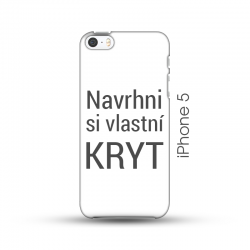 iPhone 5/5S pevný kryt s vlastním designem