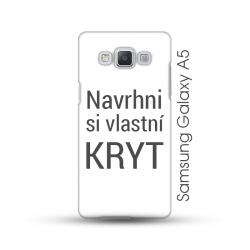 Samsung Galaxy A5 pevný kryt s vlastním motivem