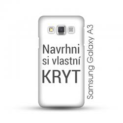 Samsung Galaxy A3 pevný kryt s vlastním designem