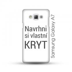 Samsung Galaxy A7 pevný kryt s vlastním designem