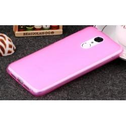 Lenovo K6 Note silikonový obal Růžový