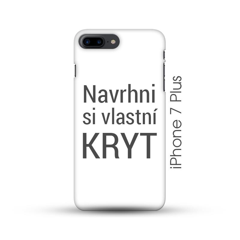 iPhone 7 Plus pevný kryt s vlastním designem aed0988bd98