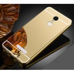 Zrcadlový kryt pro Lenovo K6 NOTE - Zlatý